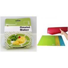 Kökspaket: Omelett maker för mikron och 4st färgkodade skärbrädor från KCFY
