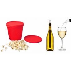 Kökspaket: Popcorn maker för mikron och KCFY Vinkylare/kylstav 3 i 1